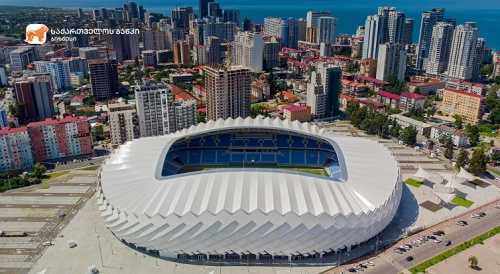 UEFA's IV-category Stadium to Open in Batumi with BOGG Support